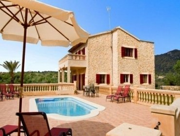 Apartments Rental Villa C,as Cavaller - Sant Llorenc des Cardassar, 4 bedrooms, 8 persons