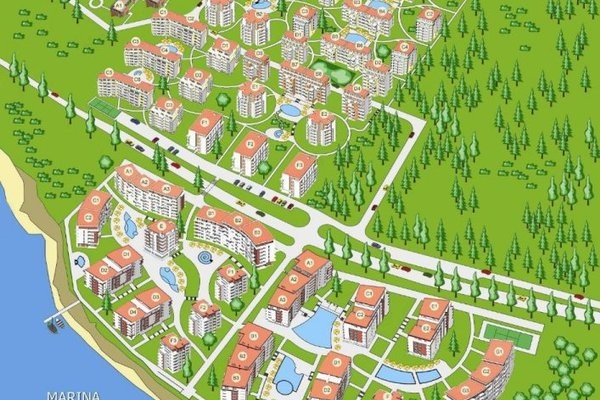 Marina View Fort Beach - Fort Noks Grand Resort (Марина Вью Форт Бич - Форт Нокс Гранд Резорт) - фото 53