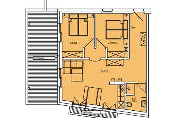 Kasperhof Apartments Innsbruck Top 6 - 7 - 15