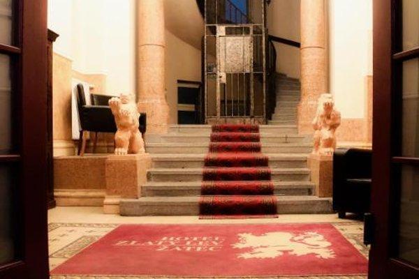 Hotel Zlaty Lev Zatec - фото 14