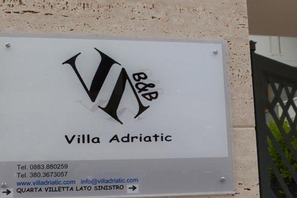 B&B Villa Adriatic - фото 17