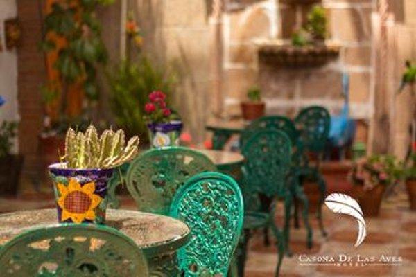 Hotel casona de las aves - фото 14