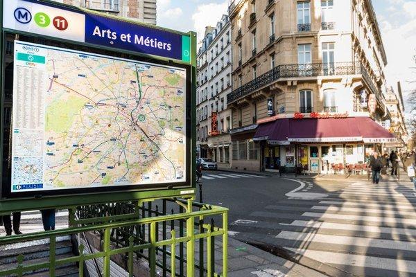 Austin's Arts Et Metiers Hotel - фото 21