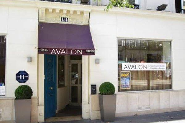 Avalon Hotel Paris - фото 22