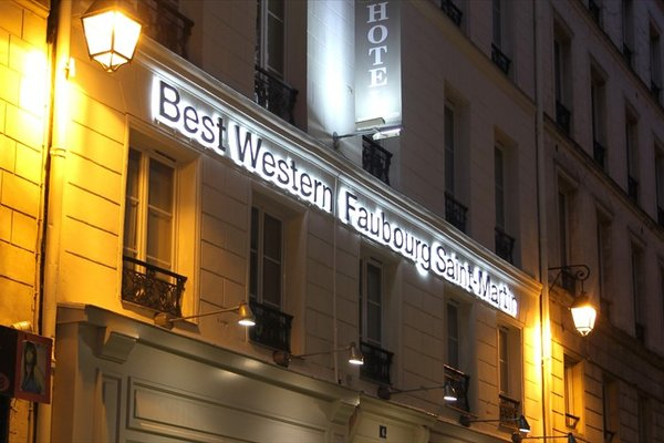Best Western Hotel Faubourg Saint Martin - 21