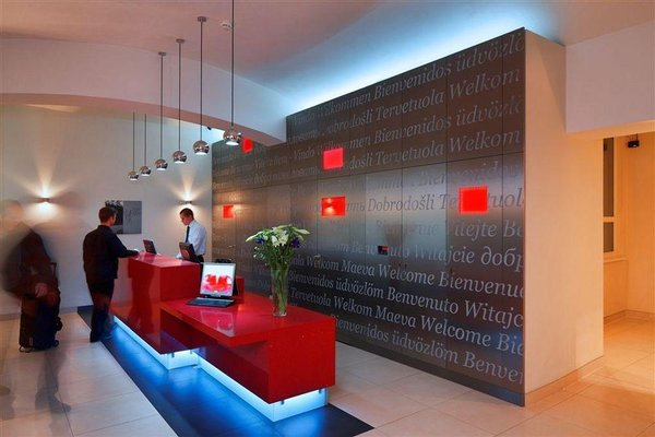 Red & Blue Design Hotel Prague - фото 16