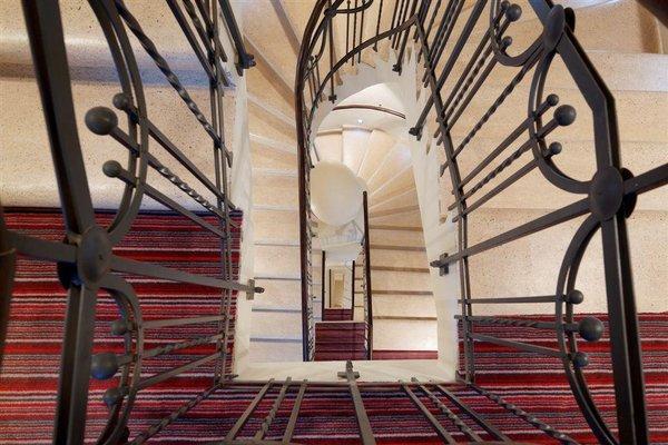 Red & Blue Design Hotel Prague - фото 17