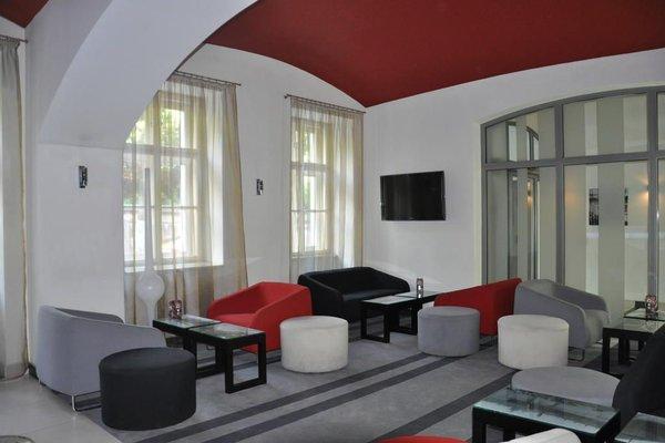Red & Blue Design Hotel Prague - фото 9