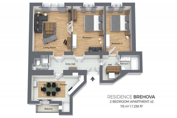 Residence Brehova - фото 18