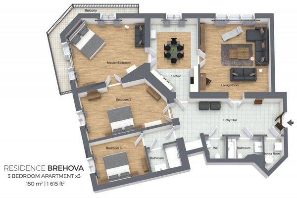 Residence Brehova - фото 19