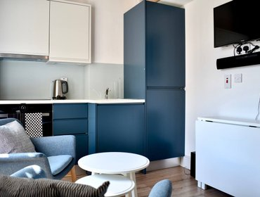 อพาร์ทเมนท์ New Modern 1-Bed Studio in Heart of Rathmines.