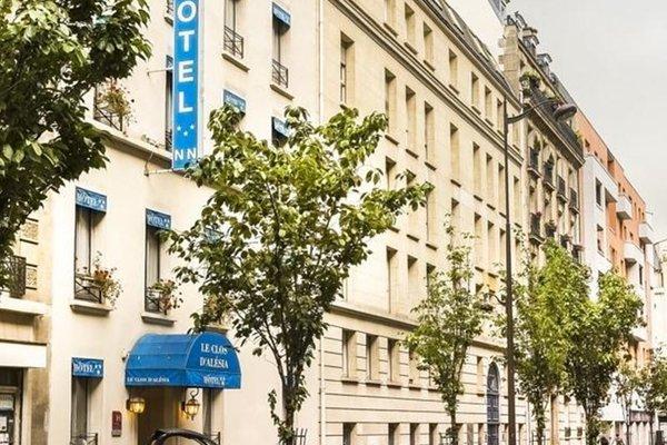 Hotel Le Clos d'Alesia - фото 33