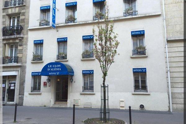 Hotel Le Clos d'Alesia - фото 22