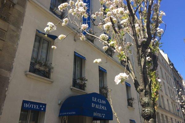 Hotel Le Clos d'Alesia - фото 23