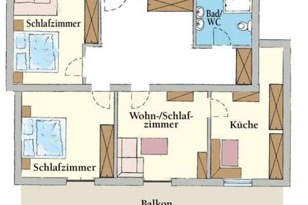 Appartementhaus Bergland - фото 19