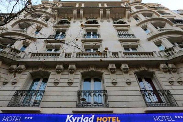 Kyriad Paris 18 - Porte de Clignancourt - Montmartre - фото 21