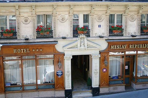 Hotel Meslay Republique - фото 18