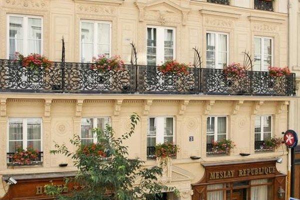 Hotel Meslay Republique - фото 20