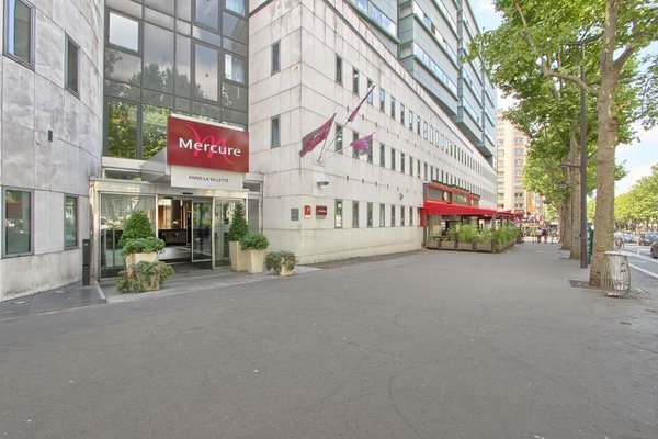 Mercure Paris 19 la Villette - фото 23