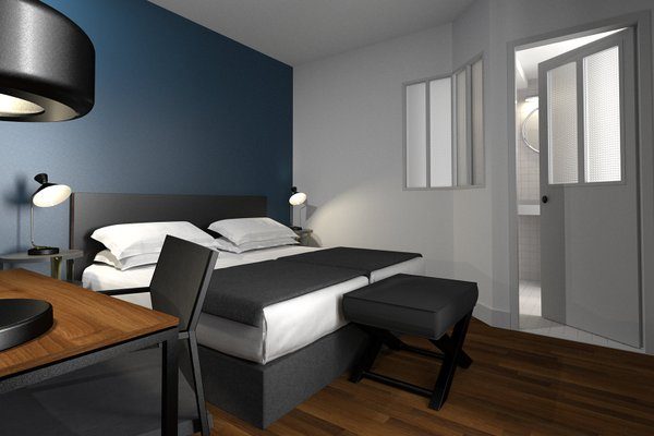 New Hotel Candide Paris - фото 7