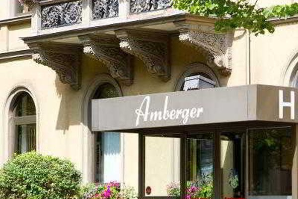 TOP Hotel Amberger - фото 21