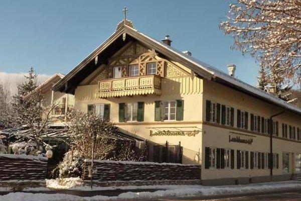 Landhaus Cafe Restaurant & Hotel - фото 23