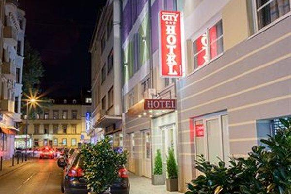 City Hotel Wiesbaden - фото 17