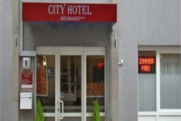 City Hotel Wiesbaden - фото 18