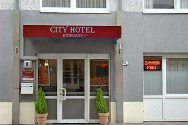 City Hotel Wiesbaden - фото 19