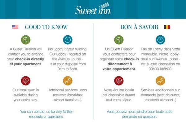 Sweet Inn Apartment- Rue Belliard - фото 20