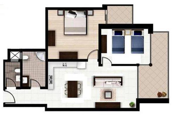 Hillock Residence Apartments - фото 16