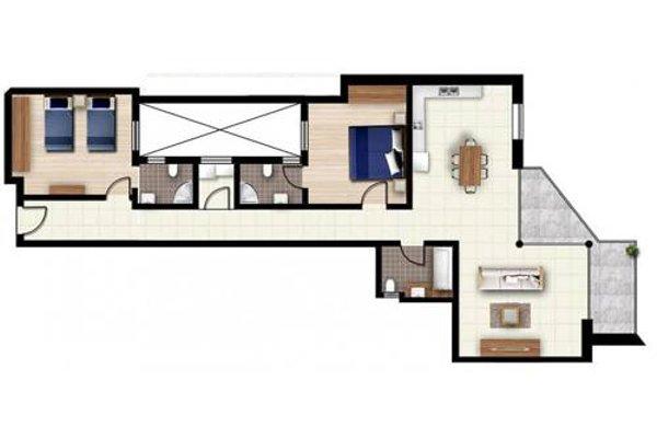 Hillock Residence Apartments - фото 17