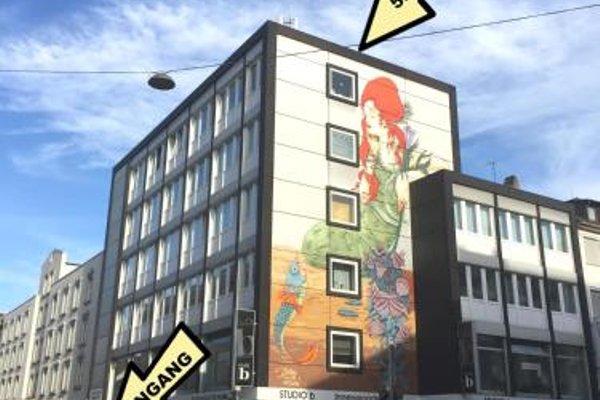 Business Hostel Wiesbaden ONE - фото 21