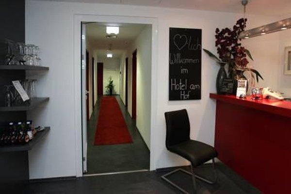 Hotel am Hof - фото 19