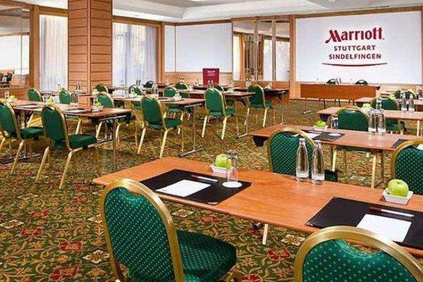 Stuttgart Marriott Hotel Sindelfingen - фото 15