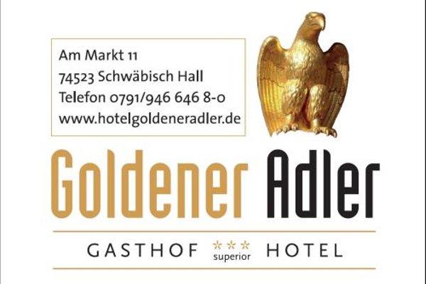 Stadt-gut-Hotel Gasthof Goldener Adler - фото 14