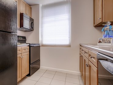 Апартаменты {mab-1a} Lux 1 BR at Newport Jersey City