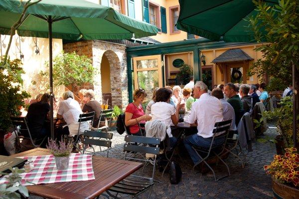Historisches Weinhotel Zum Grunen Kranz - фото 13