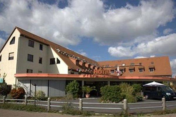 West Hotel an der Sachsischen Weinstrasse - фото 23