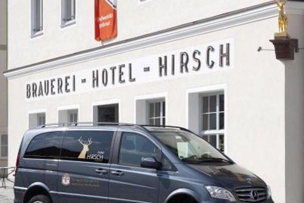 AKZENT Brauerei Hotel Hirsch - фото 23