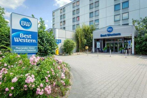 Best Western Macrander Hotel Frankfurt/Kaiserlei - фото 22