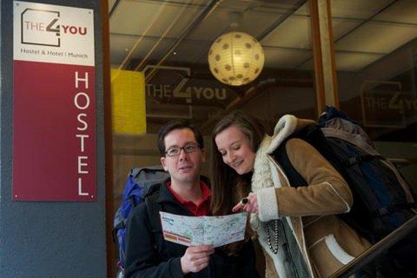 4You Hostel & Hotel Munich - фото 20