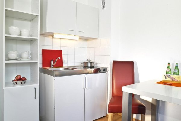 Frederics Serviced Apartments SMART Dantestr - фото 10