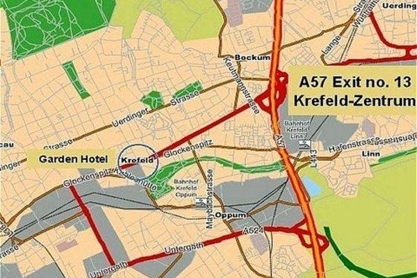 Garden Hotel Krefeld - фото 8