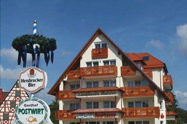Hotel-Landpension Postwirt - фото 16