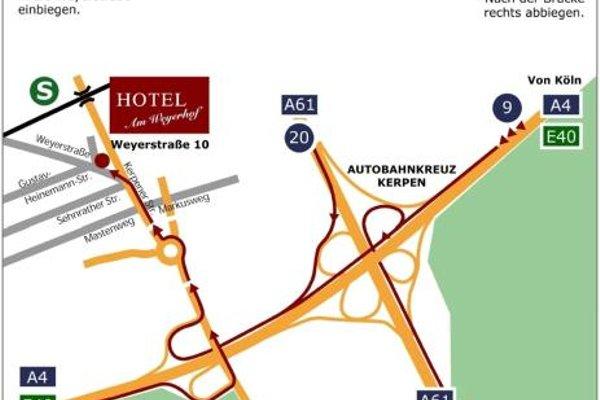 Hotel Am Weyerhof - фото 16