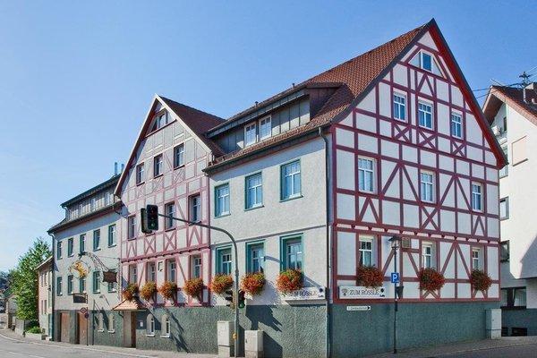 Hotel Gasthof Zum Rossle - фото 23