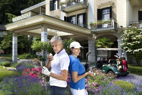 Hotel Warmbaderhof - фото 23