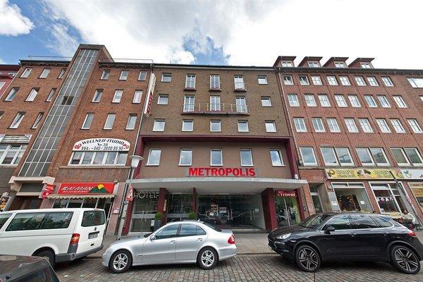 Novum Hotel Savoy Hamburg Mitte - фото 21