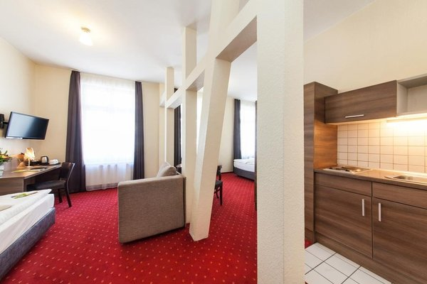 Novum Hotel City Apart Hamburg - фото 18